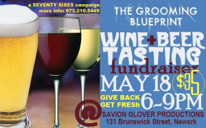 The Grooming Blueprint Wine & Beer Tasting Fundraiser, Saturday, May 18, 2013 6PM-9PM.